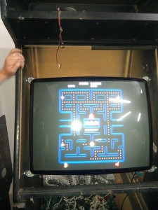 Pacman MAME Cabinet