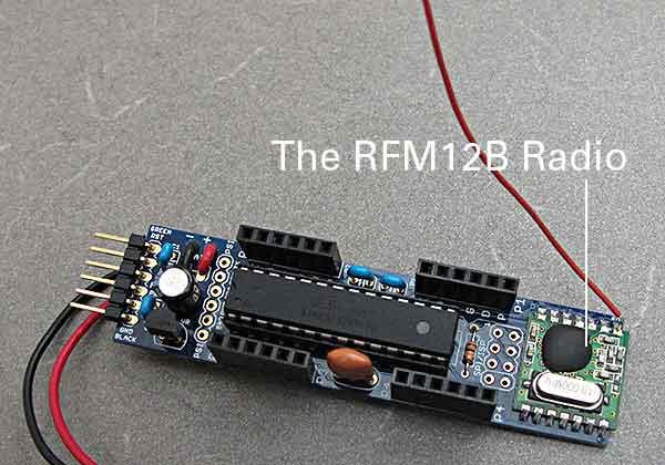 Arduino clone with wireless communication baltimore node