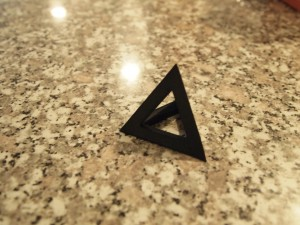 3D Printed Tetrahedron
