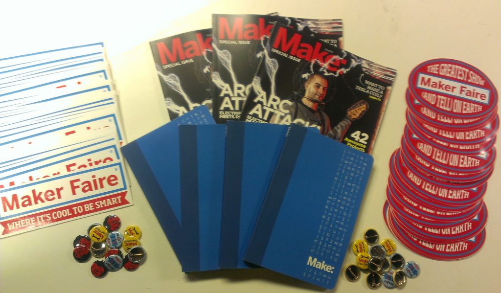 goodies from Maker Media